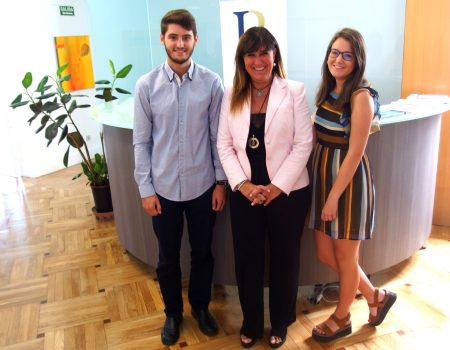 El despacho de abogados de Llorente y Rayón en Madrid